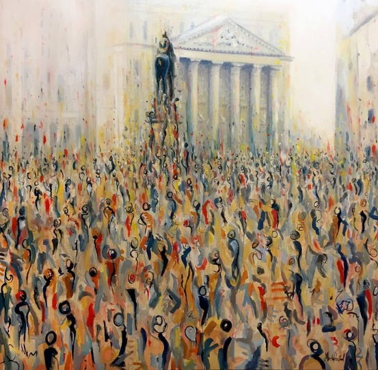 Martin Packford 'London Crowd'
